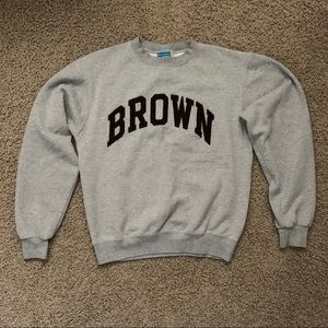 Champion Brown University Crewneck Sweatshirt